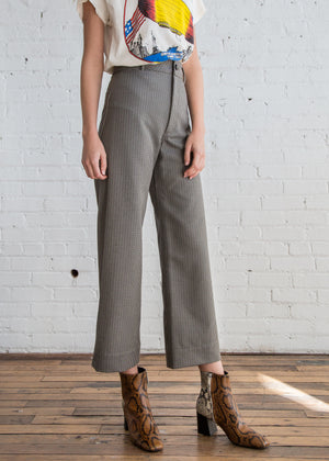 Maison Pant in Silver - SOLD OUT