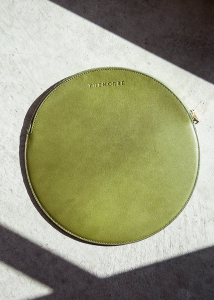 The Horse Moon Clutch Olive