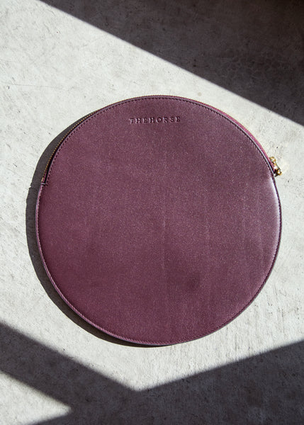 The Horse Moon Clutch Plum