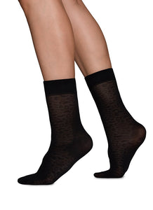 Swedish Stockings Emma Leopard Sock 60 Den