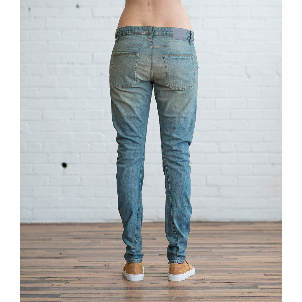6397 - 6397 Twisted Seam Jean Classic Used Blue - SOLD OUT  -  Finefolk - 6