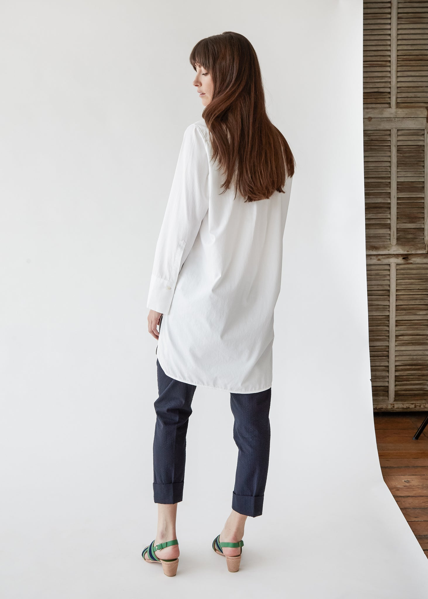 Dusk Shirt in White - SOLD OUT