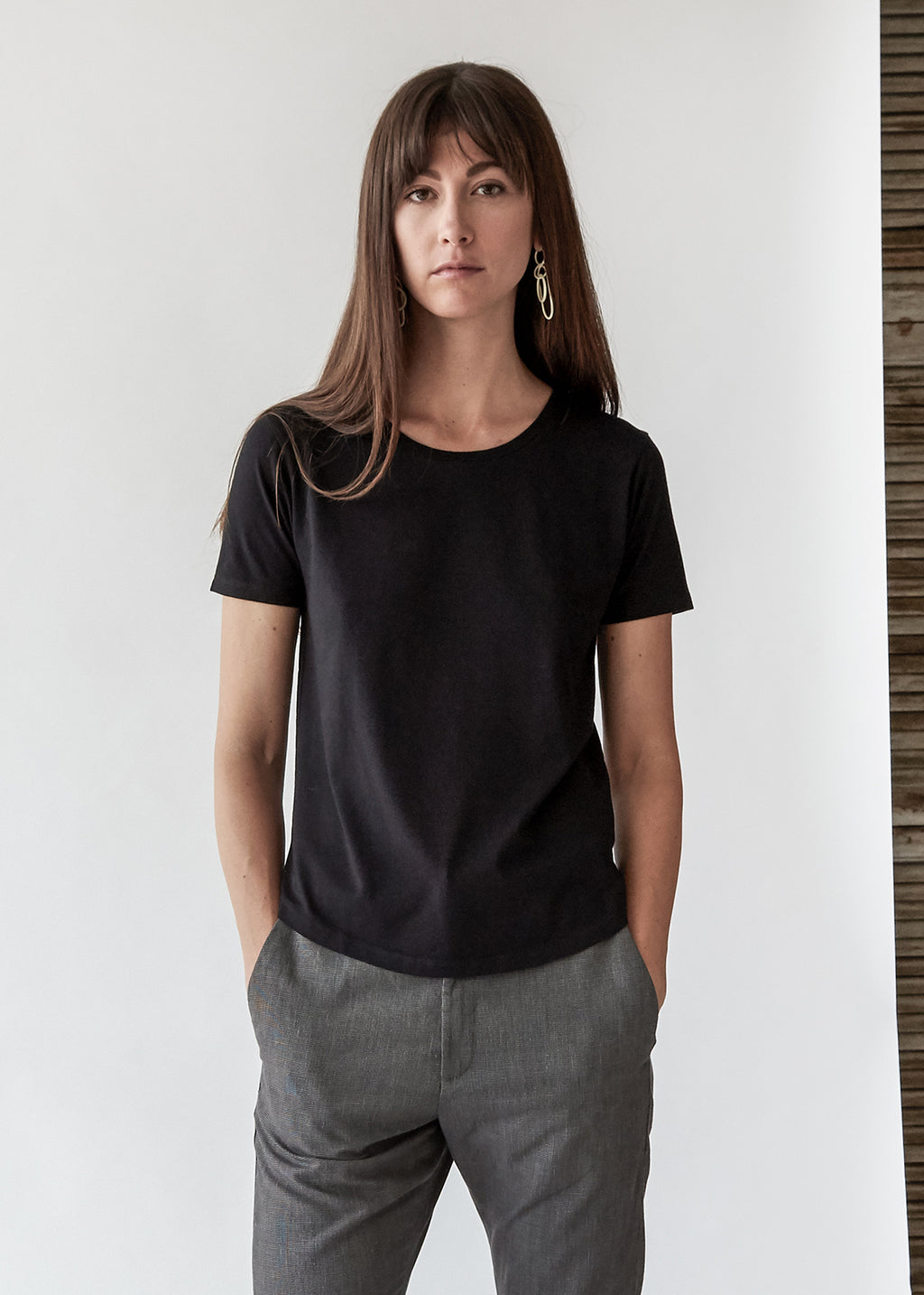 One Tee in Black