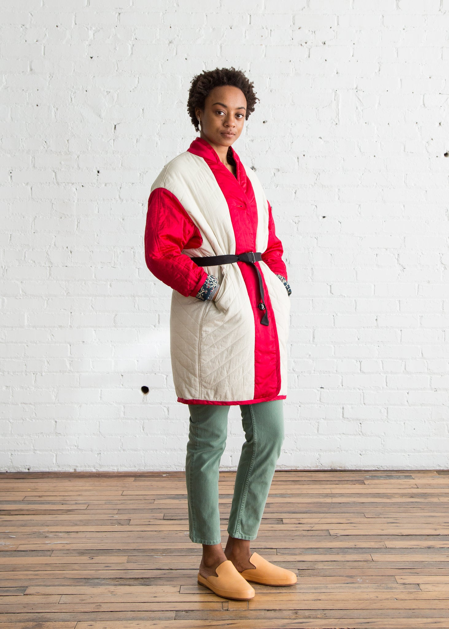 Isabel Marant Etoile Haley Coat Red $298