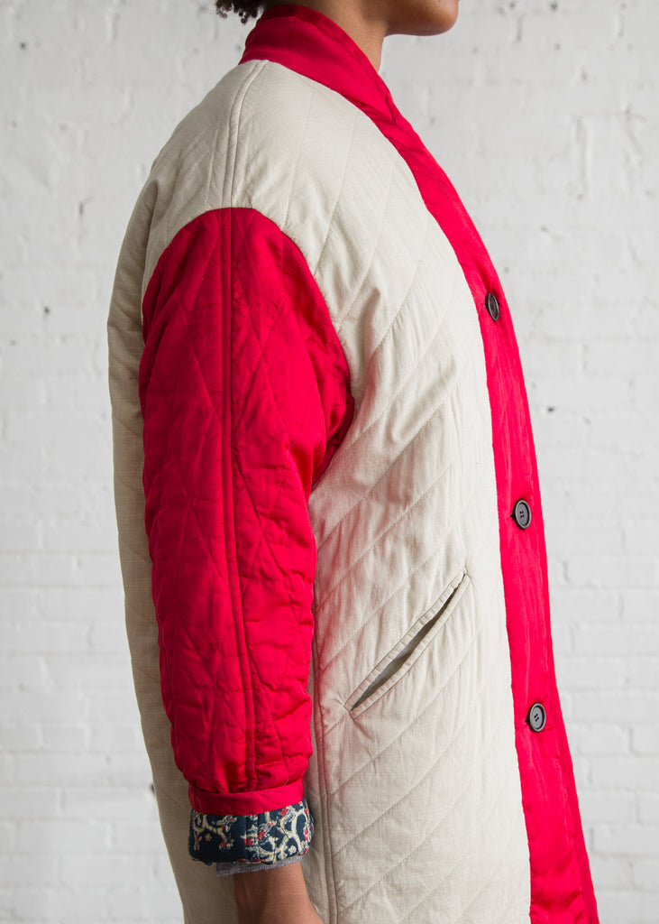 Isabel Marant Etoile Haley Coat Red $745