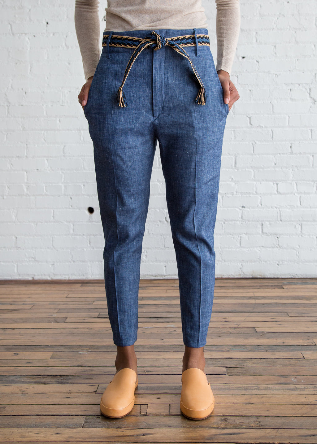 Oah Pants Blue $96