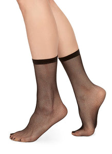 Swedish Stockings Liv Net Socks Black Micro-Net