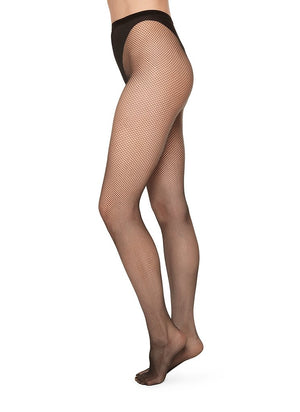 Swedish Stockings Liv Net Tights Black Net