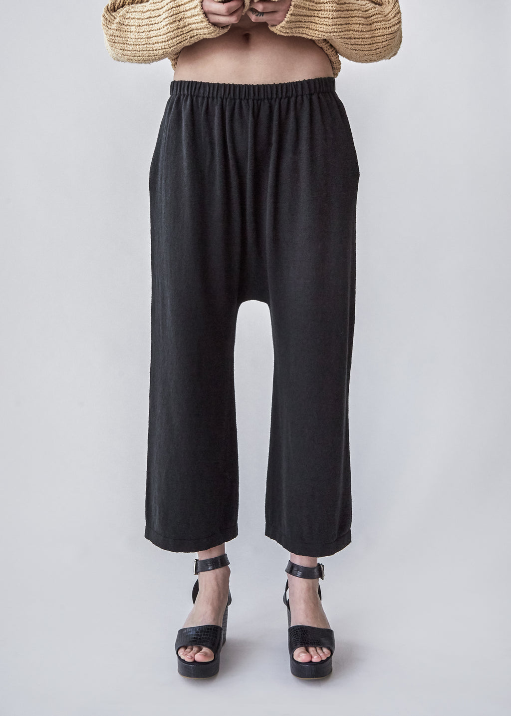 Peg Pants in Coal - SOLD OUT