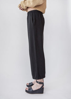 Peg Pants in Coal
