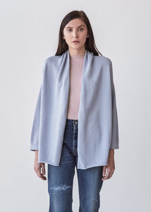 Slouch Cardigan in Spa Blue