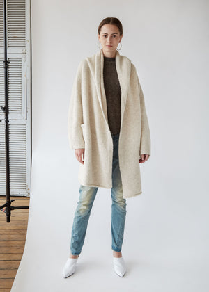 Capote Coat in Hessian - SOLD OUT