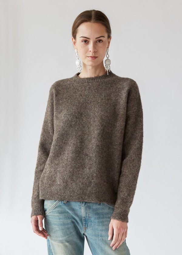 Crewneck Pullover in Bracken