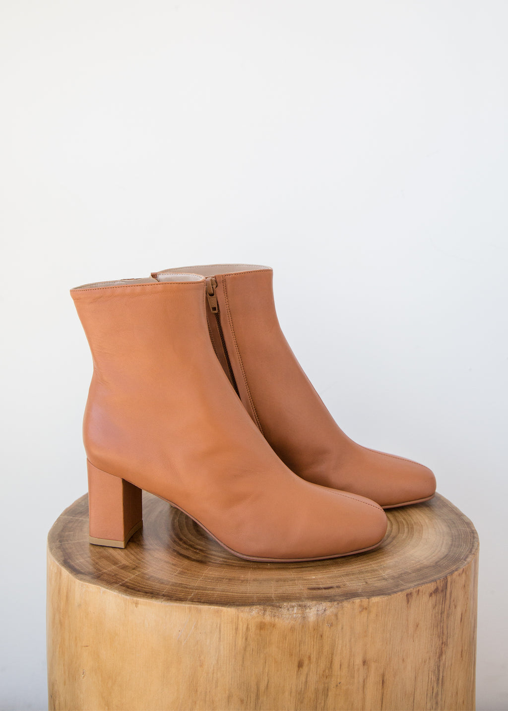 Maryam Nassir Zadeh Agnes Boot Oak Calf