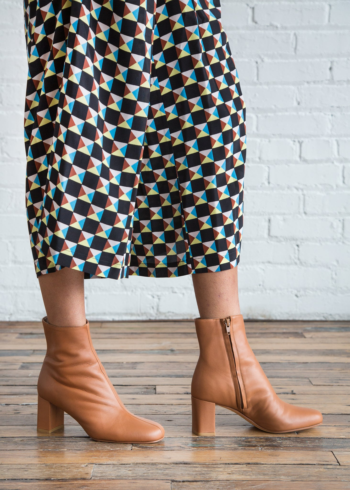 Maryam Nassir Zadeh Agnes Boot Oak Calf - SOLD OUT