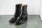 Agnes Boot in Black Patent