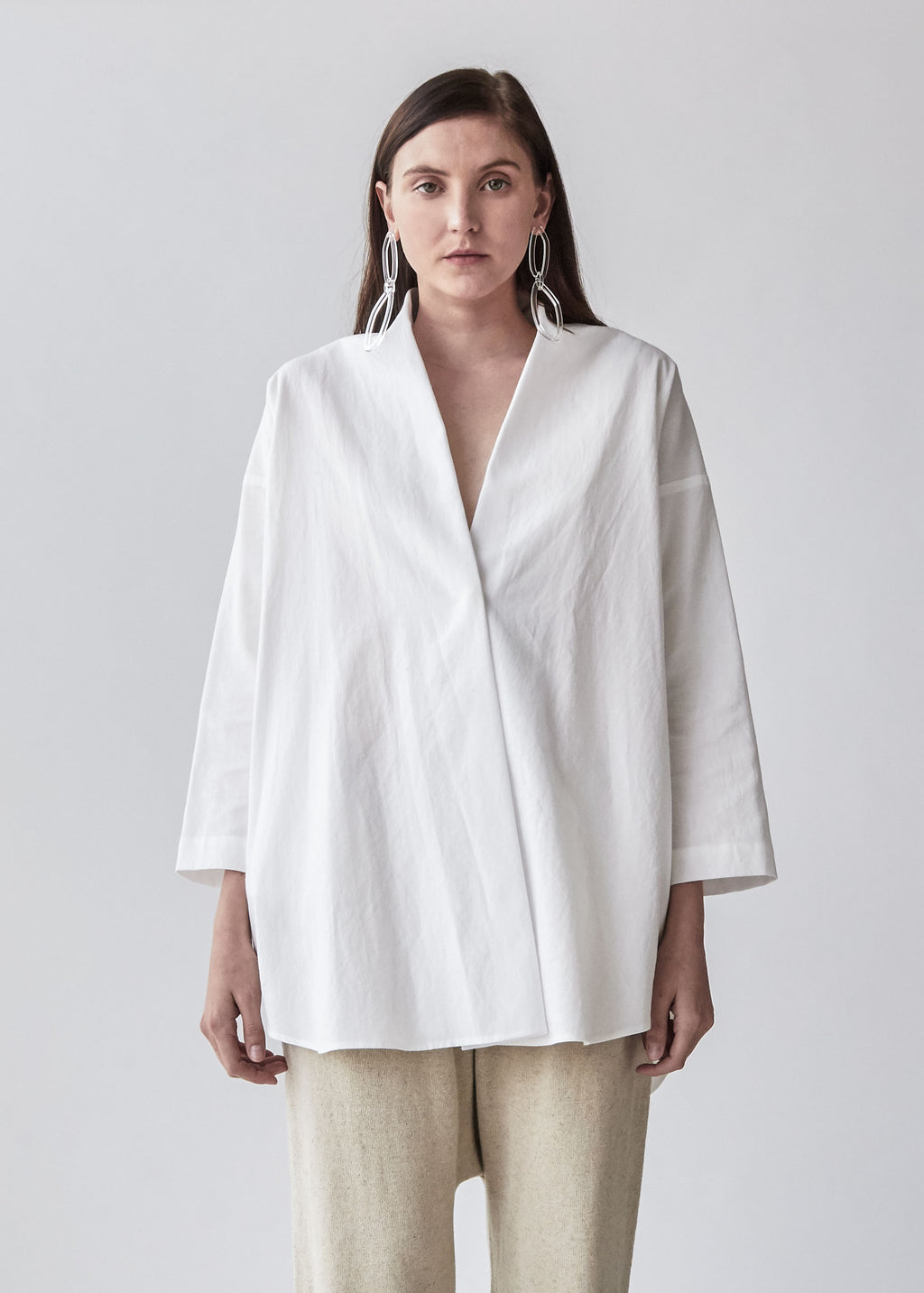Shawl Shirt in Shoji - SOLD OUT