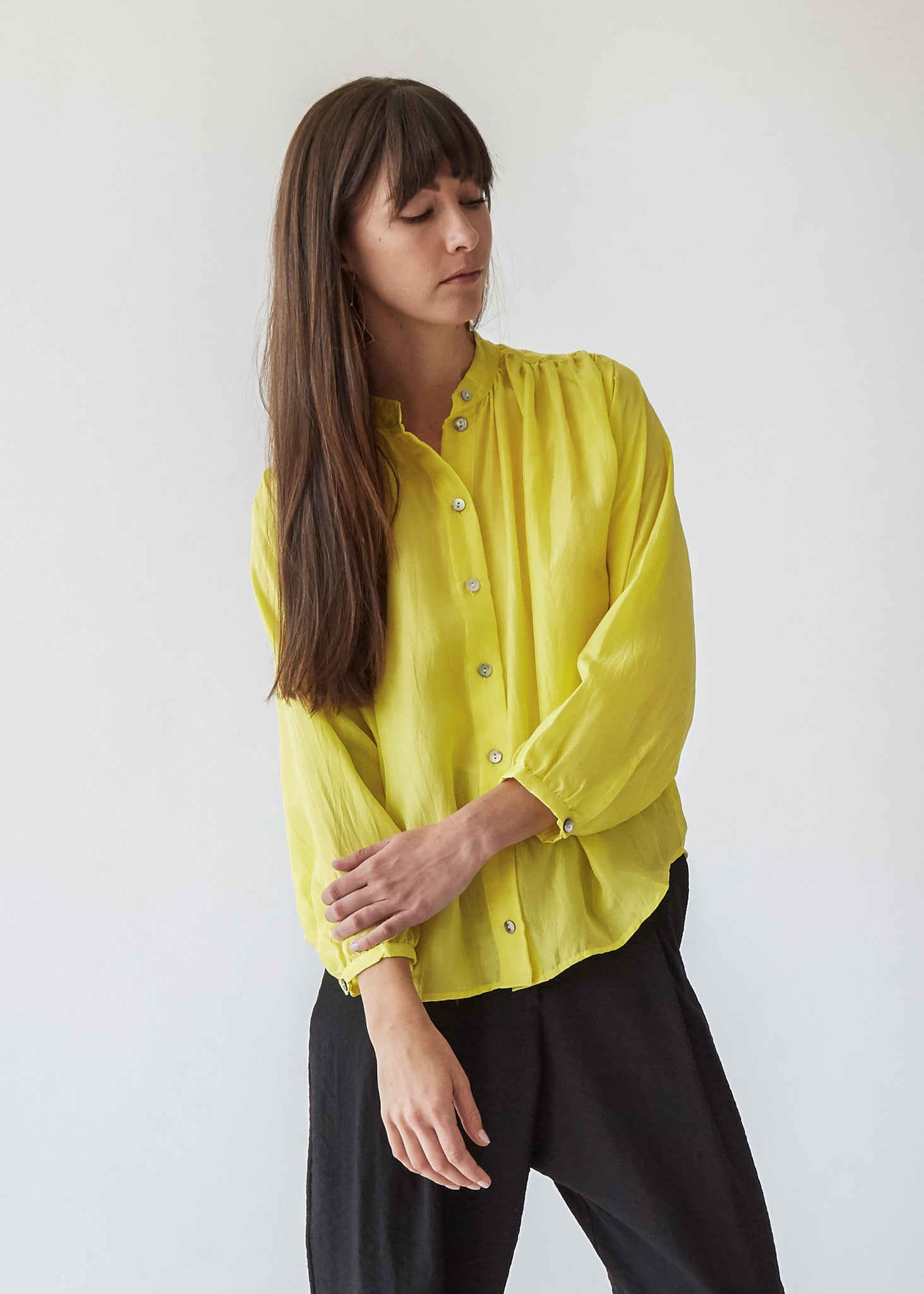 Quinn Blouse in Yellow - SOLD OUT
