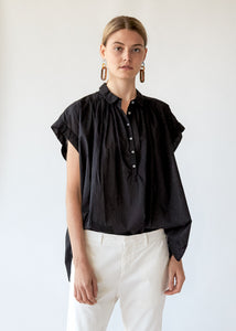 Normandy Blouse in Black