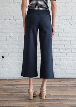 Nomia Cropped Culottes Midnight