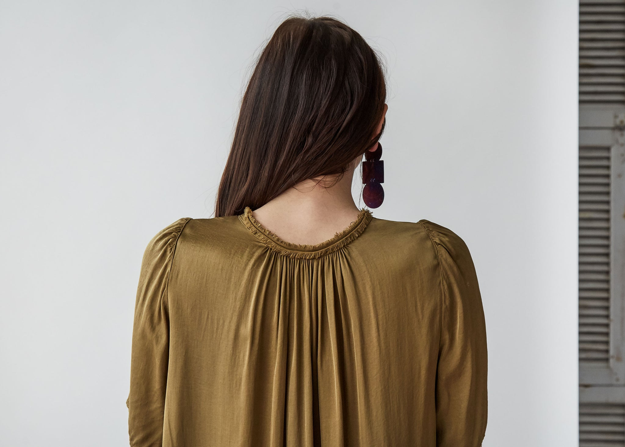 Flutter Blouse in Tobacco - SOLD OUT