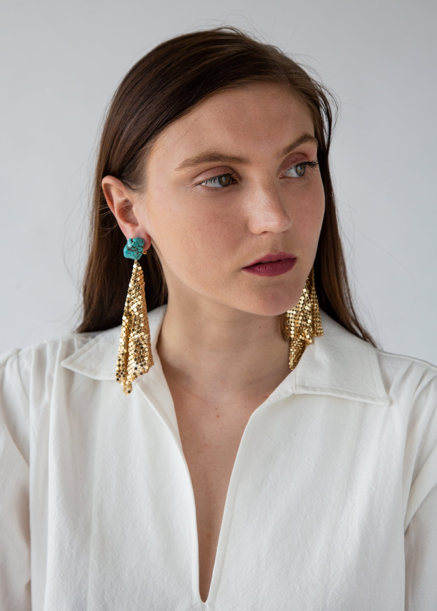 Sprink Earrings in Gold
