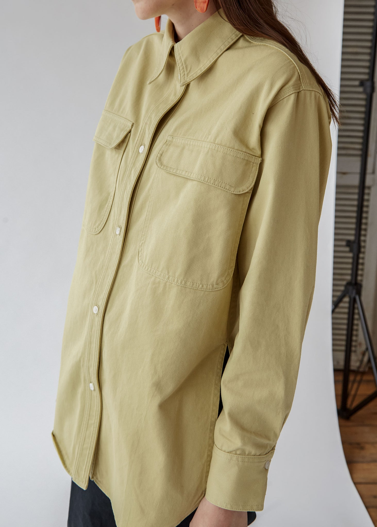 Supply Shirt in Khaki - SOLD OUT