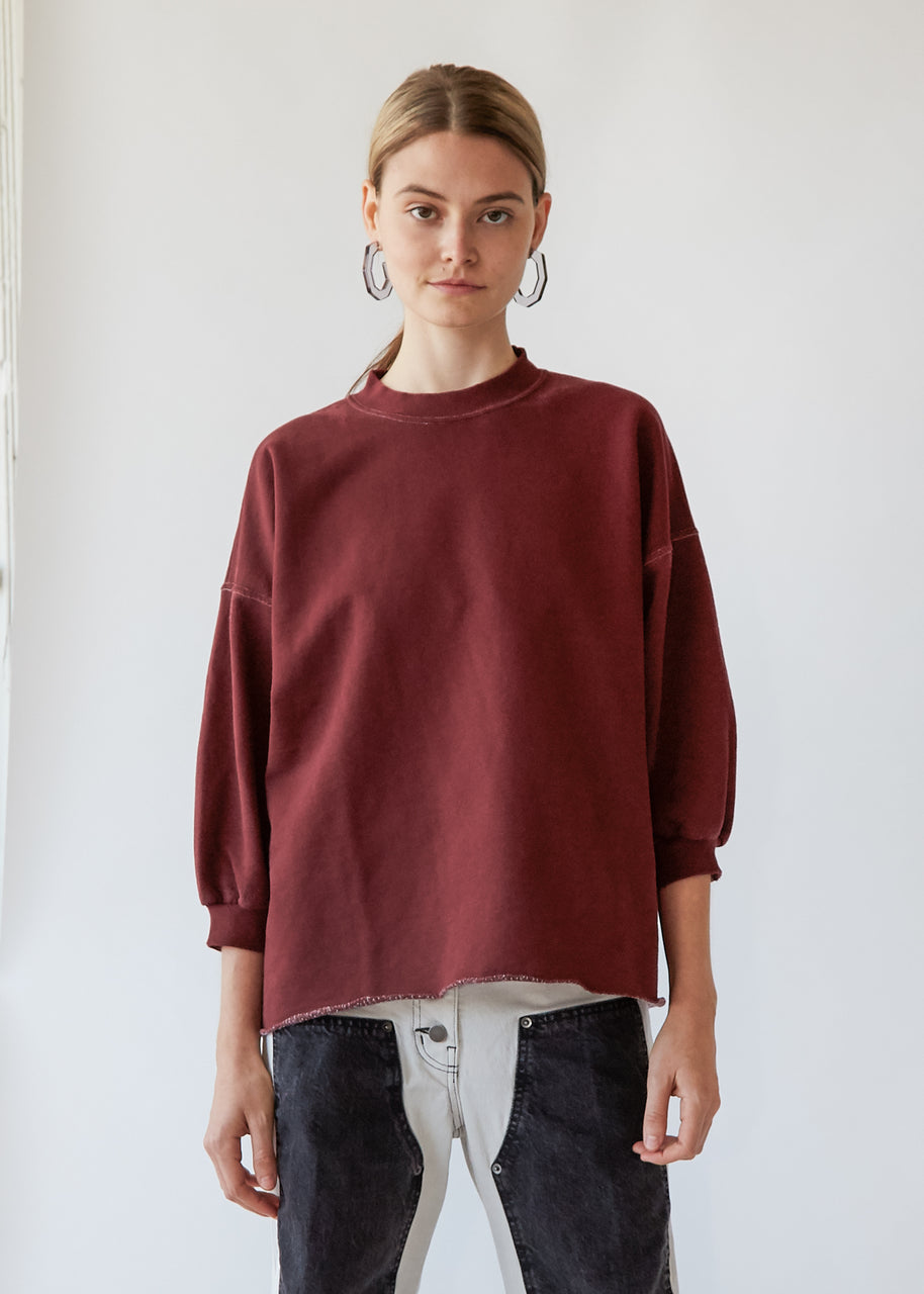 Fond Sweatshirt in Burnt Umber