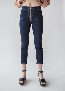 Concur Pant in Dark Indigo