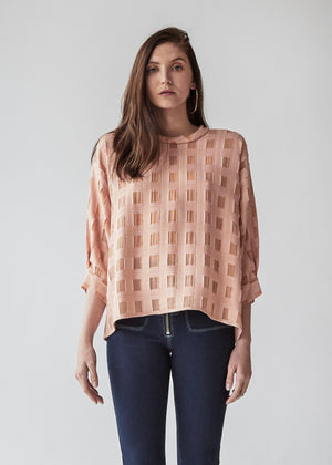 Fond Blouse in Blush