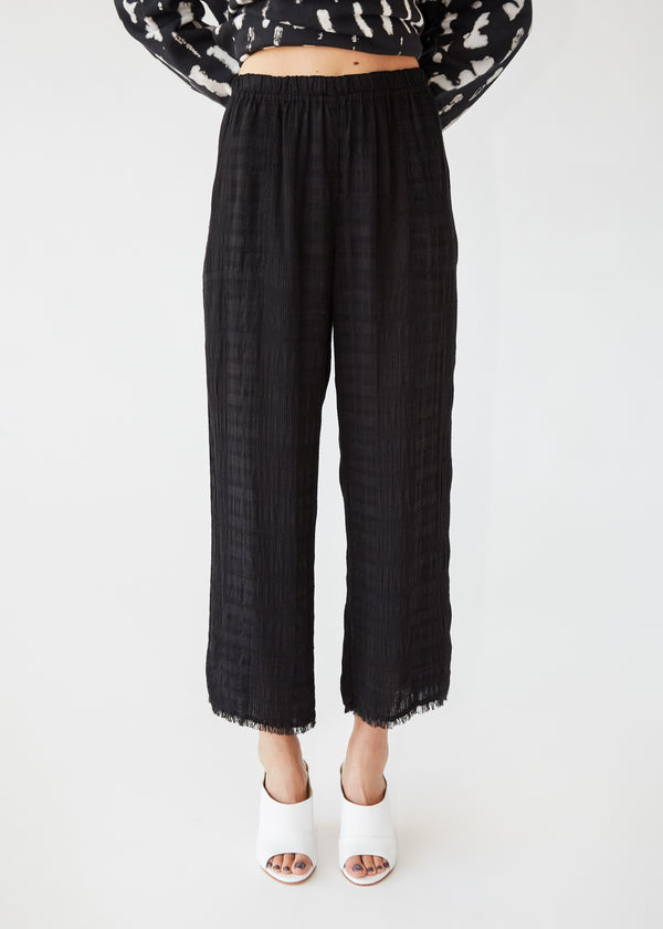 Culotte Pant in Black