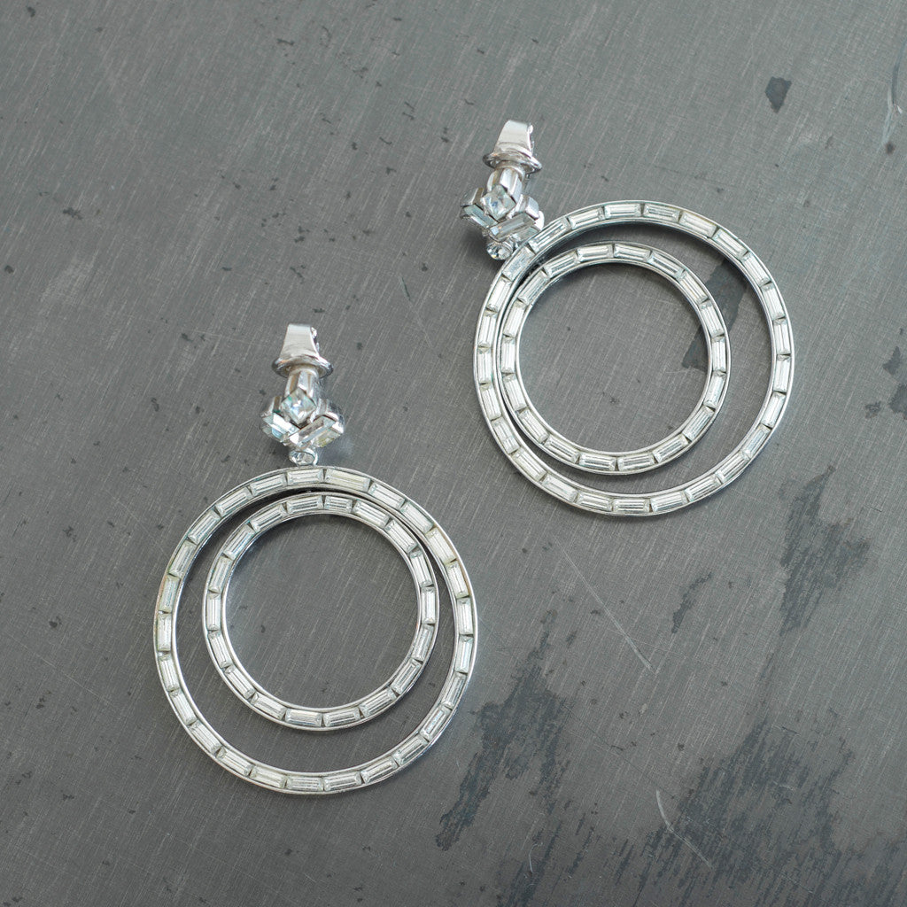 Carole Tanenbaum Vintage Collection - Carole Tanenbaum Vintage Collection 1950s 2-Loop Earrings - Finefolk - 1