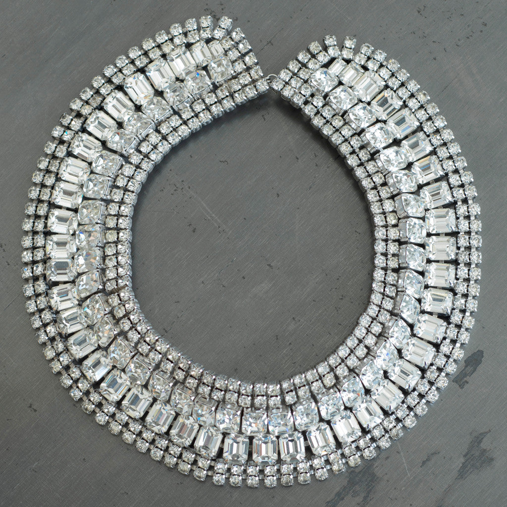 Carole Tanenbaum Vintage Collection - Carole Tanenbaum Vintage Collection 1950s Weiss Collar Necklace - Finefolk - 1