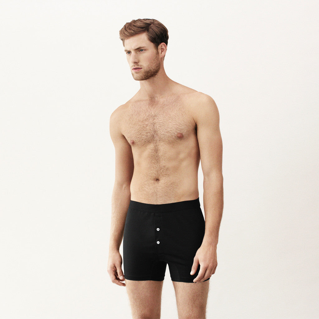 Handvaerk - Handvaerk Boxer Brief Black - Finefolk - 1