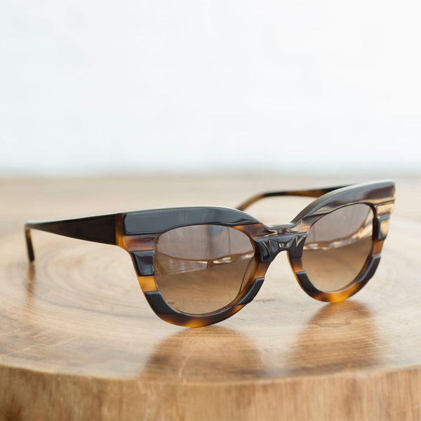 Kate Young for Tura - Kate Young for Tura K514 Black Tortoise - Finefolk - 1