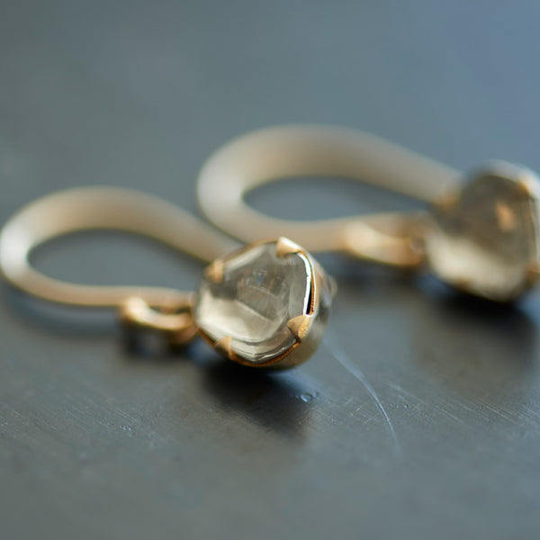 Sierra Winter - Sierra Winter Primrose Diamond Earrings  -  Finefolk
