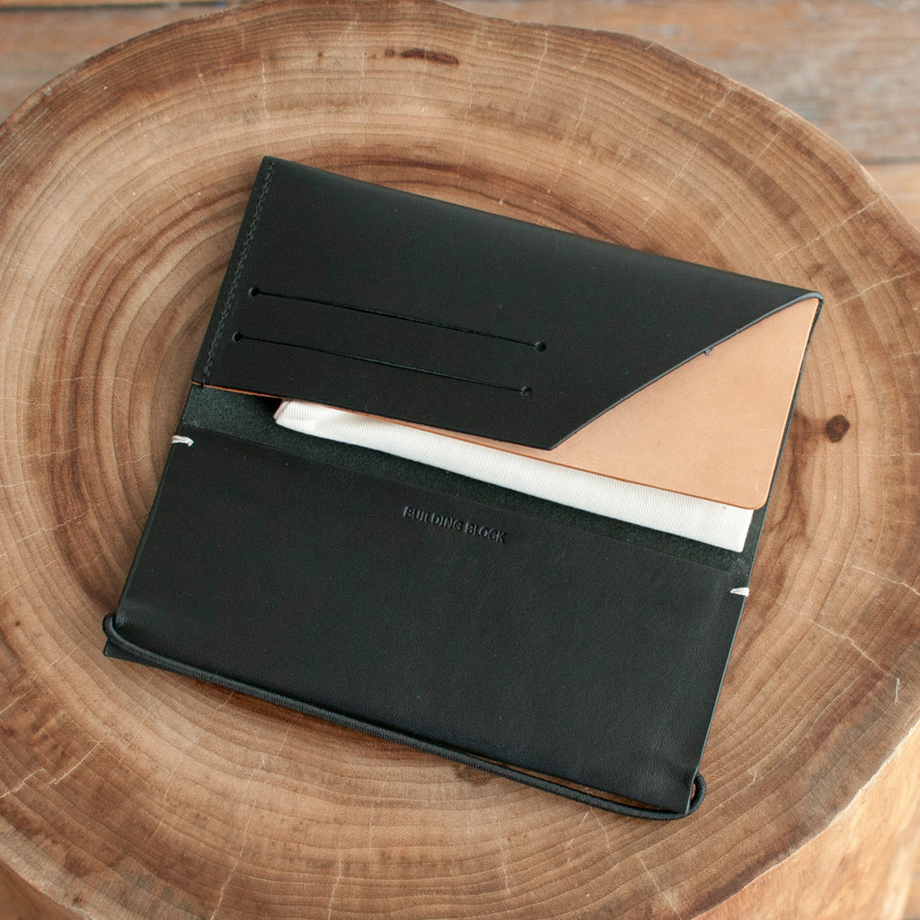 Building Block - Building Block Envelope Wallet Black - Finefolk - 1