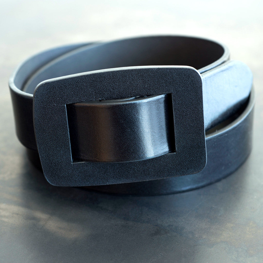 Closed - Closed Leather Belt Black - SOLD OUT  -  Finefolk - 1