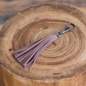 Yvonne Konթ - Yvonne Konթ Tassel Key Holder Powder  -  Finefolk