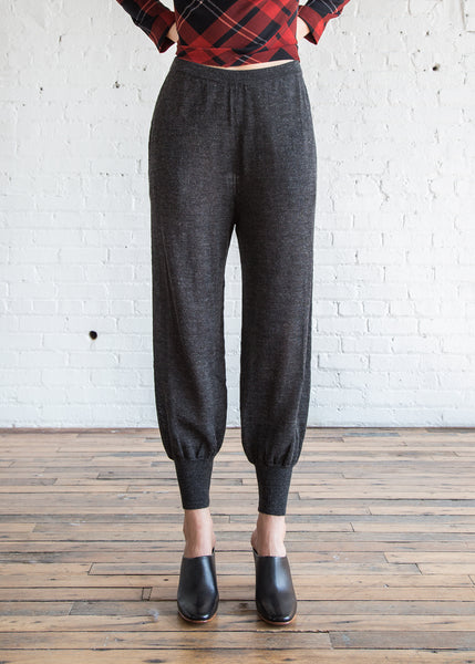 A Detacher China Pants Charcoal