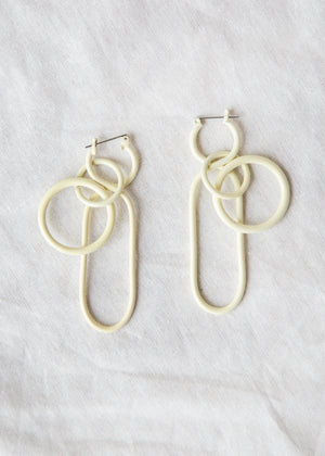 Fern Earring in White - SOLD OUT