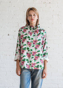 A Detacher Tola Top Floral Print