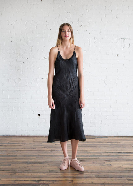 Anaak Scarlette Slip Dress Black