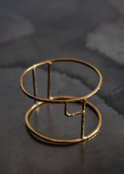 Aoko Su Ital Cuff (Half) Bronze - SOLD OUT
