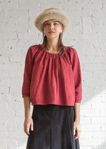 Afton Top in Mahogany - SOLD OUT