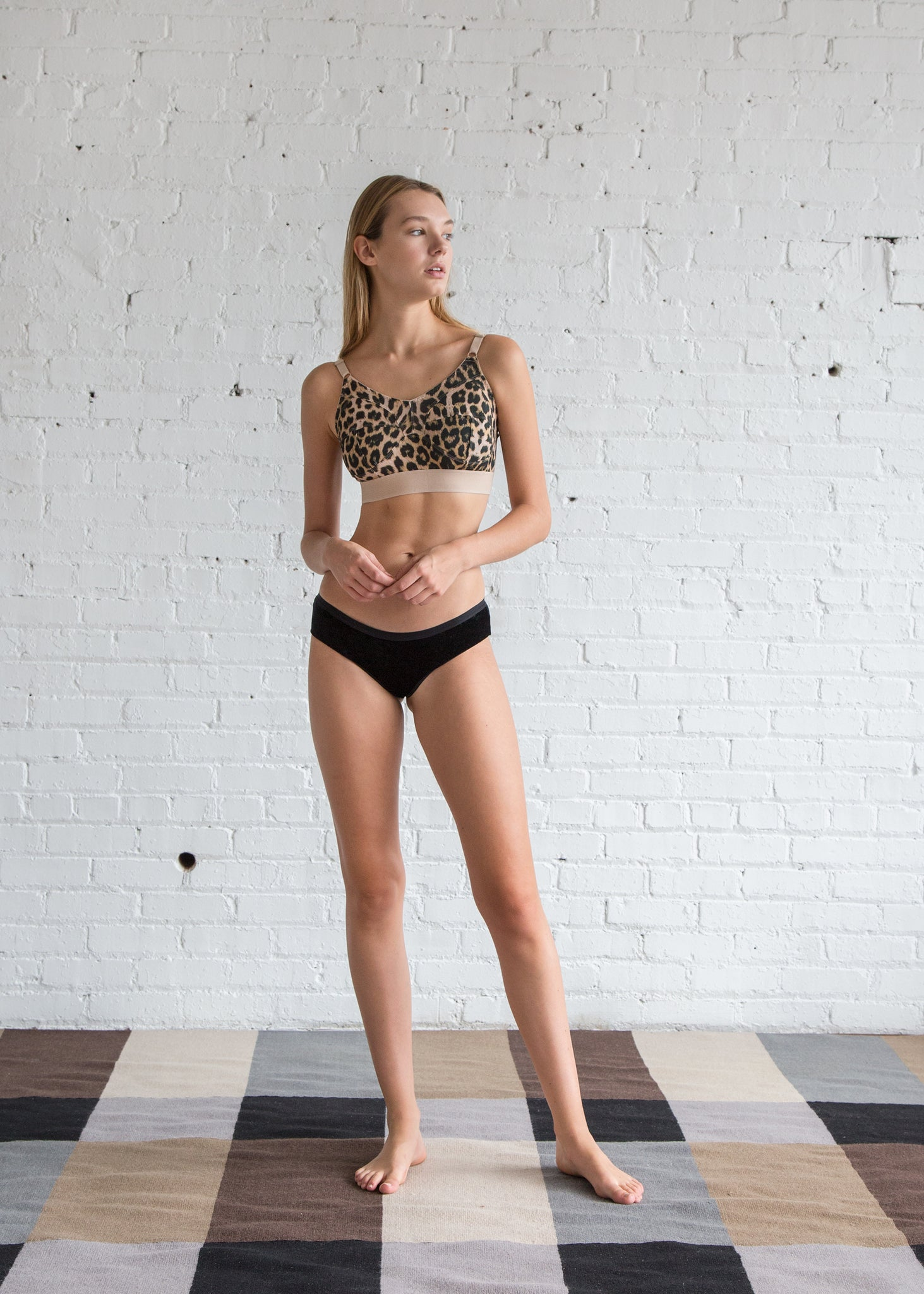 Base Range Messina Bra Leopard