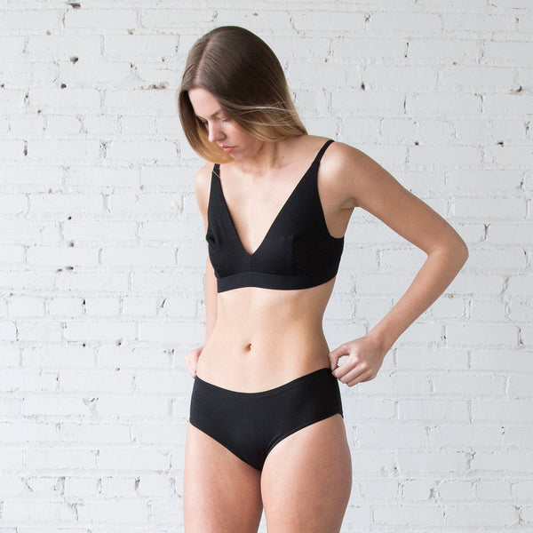 Base Range Triangle Bra C Cup