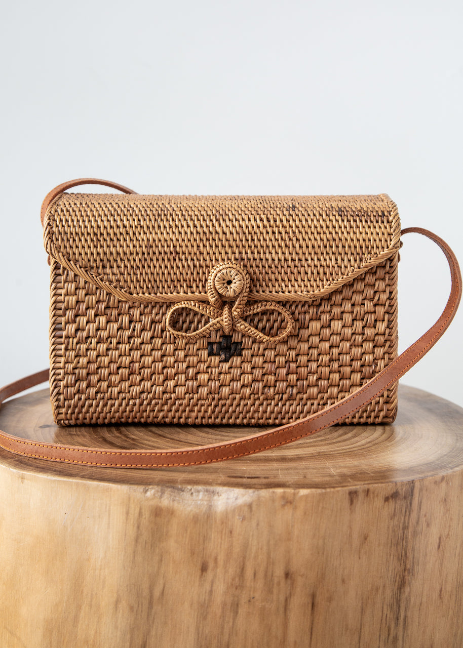 Sofia Bag in Rattan