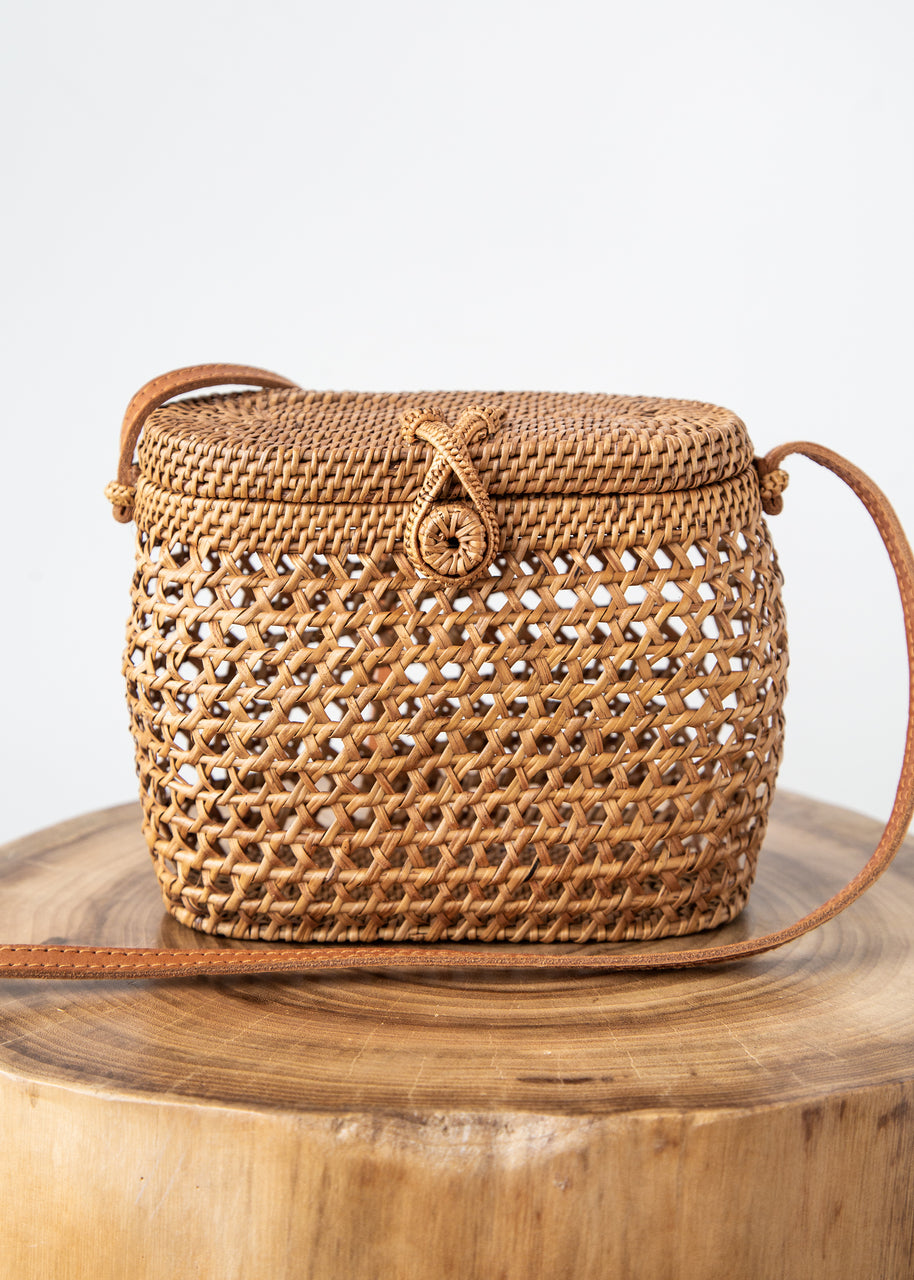 Tali Bag in Rattan