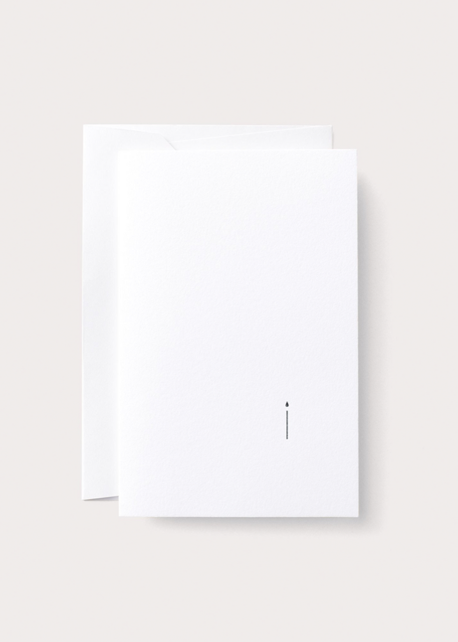 Minimalist Birthday Card